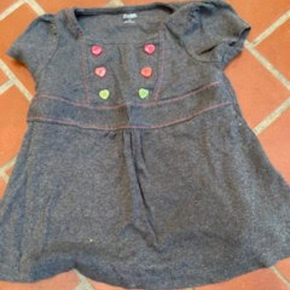 Gymboree Grey dress with buttons